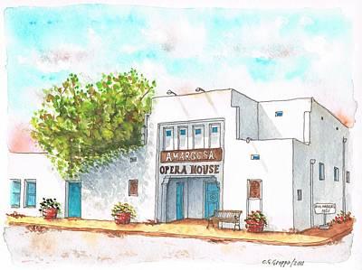 Amargosa Opera House - Nevada Art Print