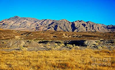 Amargosa Photograph - Amargosa Range by Charles Dobbs