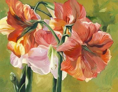 Amaryllis In Spring Original