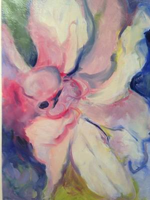 Amaryllis Musing Art Print