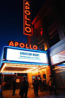Apollo Theater Photograph - Amateur Night by James Kirkikis