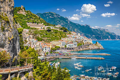 Amazing Amalfi Art Print by JR Photography