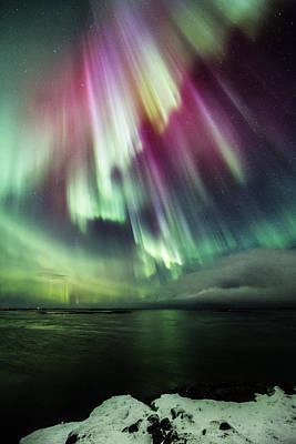 Amazing Auroras Art Print