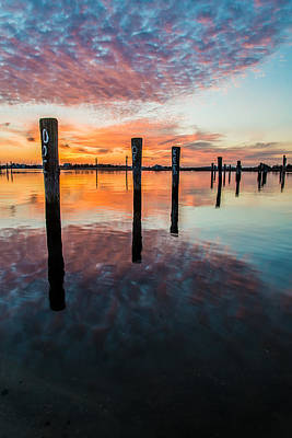 Seaside Heights Photograph - Amazing Bay by Kristopher Schoenleber
