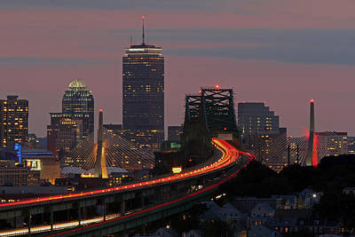 Bean Town Photograph - Amazing Boston by Juergen Roth
