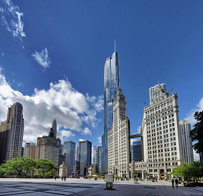 Photograph - Amazing Chicago by Photo By Claude-olivier Marti