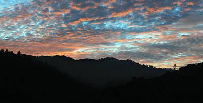 Amazing Evening Sky Print by Haleh Mahbod