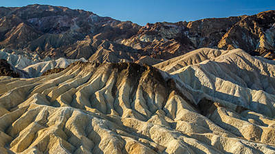 Bath Time Rights Managed Images - Amazing landscape of Zabriskie point in Death Valley Royalty-Free Image by Pierre Leclerc Photography