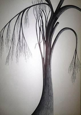 Drawing - Amazing Dazzling Nature by Giuseppe Epifani