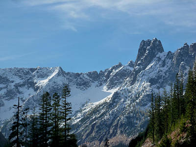 Photograph - Amazing Peaks by Christine Burdine