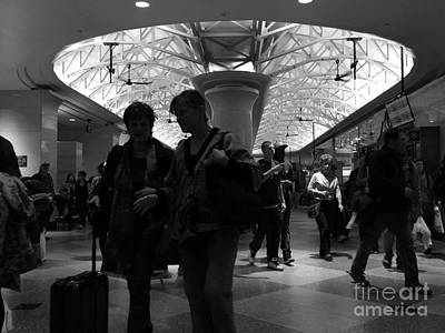 Photograph - Amazing Penn Station - Otherworldly View by Miriam Danar