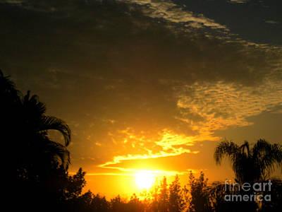 Photograph - Amazing Sunrise. Spring by Oksana Semenchenko