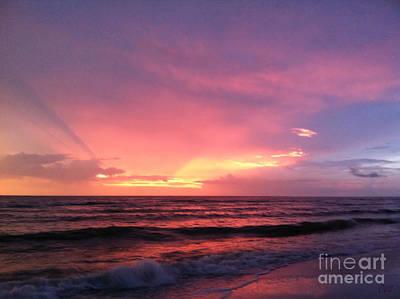 Photograph - Amazing Sunset. Naples.usa by Oksana Semenchenko