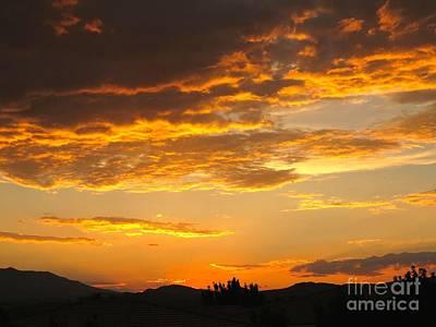 Photograph - Amazing Sunset by Phyllis Kaltenbach