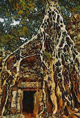 Painting - Amazing Tree by Teara Na