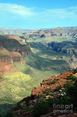 Photograph - Amazing View From The Grand Canyon South Kaibab Trail by Shawn O'Brien