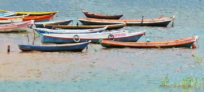 Photograph - Amazon Boats Brazil by Deborah Smith