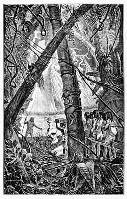 Amazon Jungle Painting - Amazon Jungle by Granger