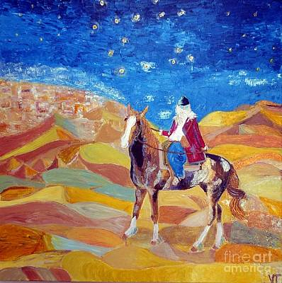 Painting - Amazon In A Desert by Vicky Tarcau