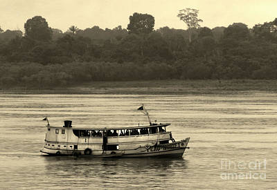 Photograph - Amazon River Boat by Deborah Smith