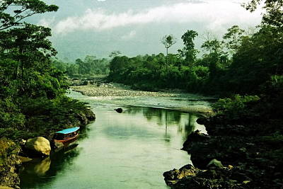 Amazon River Photograph - Amazon River Scene by Aidan Moran