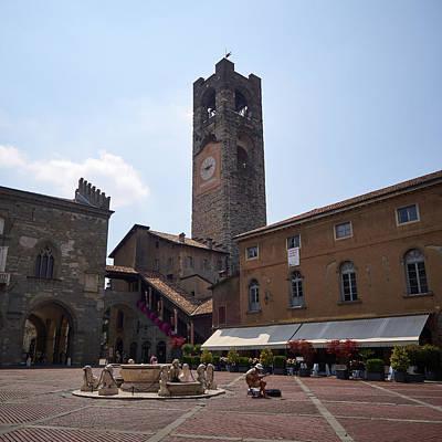 Photograph - Ambasciata Culturale Europea. Bergamo Alta by Jouko Lehto