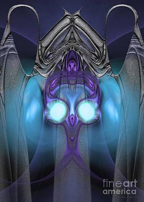 Lyrical Digital Art - Ambassador - Surrealism by Sipo Liimatainen