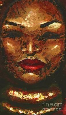 Amber Art Print by Alga Washington
