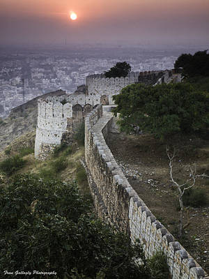 Photograph - Amber Fort At Sunset by Fran Gallogly