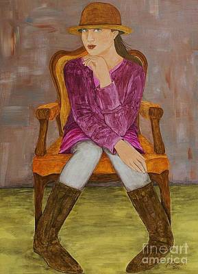 Painting - Lucy by Jane Chesnut