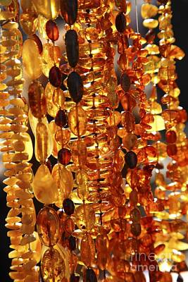 Baltic Amber Photograph - Amber Jewelry by Bjorn Svensson