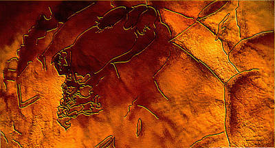 Mixed Media - Amber Light by Marie Jamieson