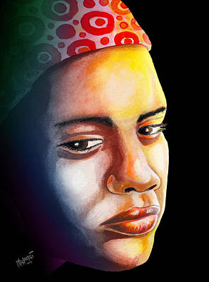Africa Painting - Ambivalence by Anthony Mwangi