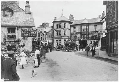 Ambleside Wall Art - Photograph - Ambleside Village Scene In The Lake by Mary Evans Picture Library