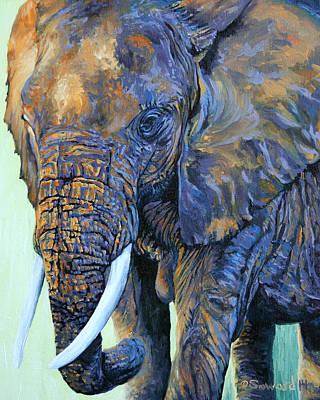 Painting - Amboseli Sunset by Sarah Soward