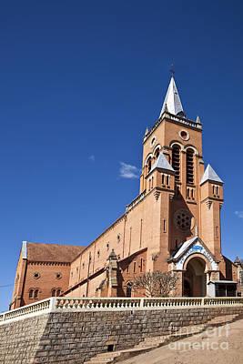 Photograph - Ambositra Rc Church Madagascar by Liz Leyden