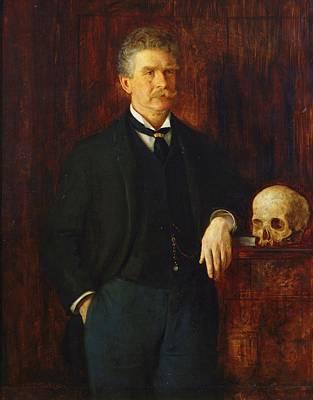 Ambrose Bierce Art Print by John Herbert Evelyn Partington