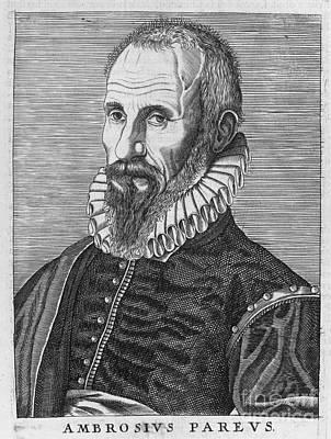 Ambrose Pare (1517?-1590) Art Print