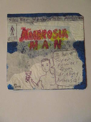 Ambrosia Man - Napkin Art Art Print