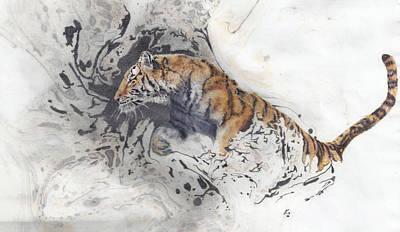 Drawing - Ambush by Joelle Bhullar