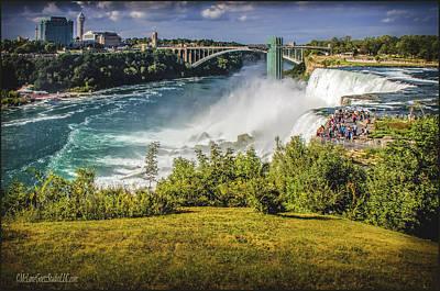 Photograph - Ameican Side Niagara Falls by LeeAnn McLaneGoetz McLaneGoetzStudioLLCcom