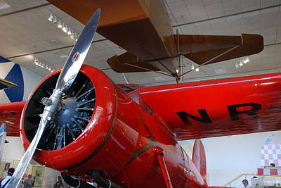 Photograph - Amelia Earhart Prop Plane by Kenny Glover