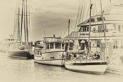 Photograph - Amelia Island Boat Docks by Barry Jones