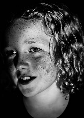 Little Girl Photograph - Amelia by S Rodriques