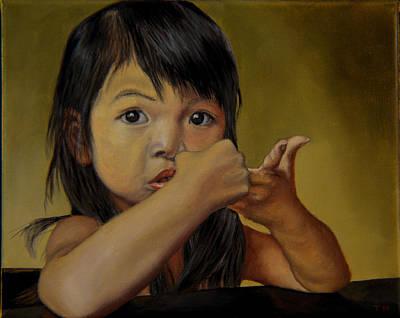 Amelie-an 9 Art Print by Thu Nguyen