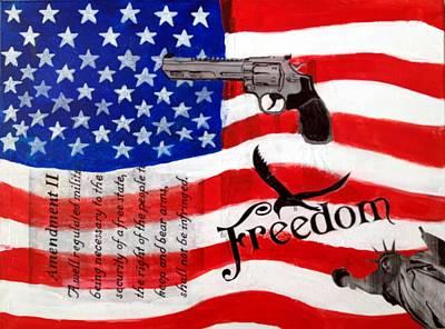 Amendment II Art Print by Made by Marley