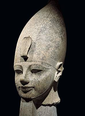 Statue Portrait Photograph - Amenhotep IIi. S.xiv Bc. 18th Dynasty by Everett