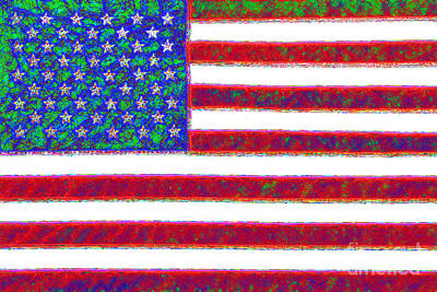 Made In The Usa Digital Art - America - 20130122 by Wingsdomain Art and Photography
