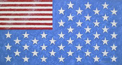 America Of States United Original by Arthur Benjamins