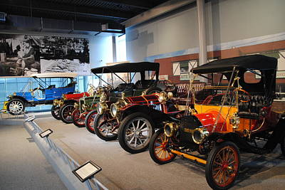Photograph - America On Wheels Museum - 1 by Jacqueline M Lewis